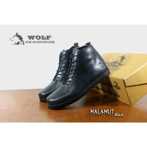 sepatu low boots WOLF BULLDOG sepatu kulit pria keren macho modis gaul band  rocker murah  ab3b3487b3