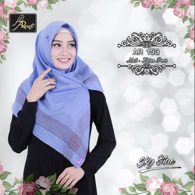 Hijab Ar Rafi Ar 153 Segi Empat Shopee Indonesia