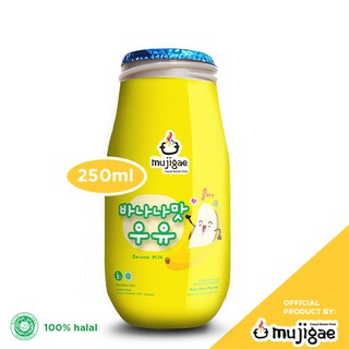 Mujigae Banana Milk Original (250 mL)