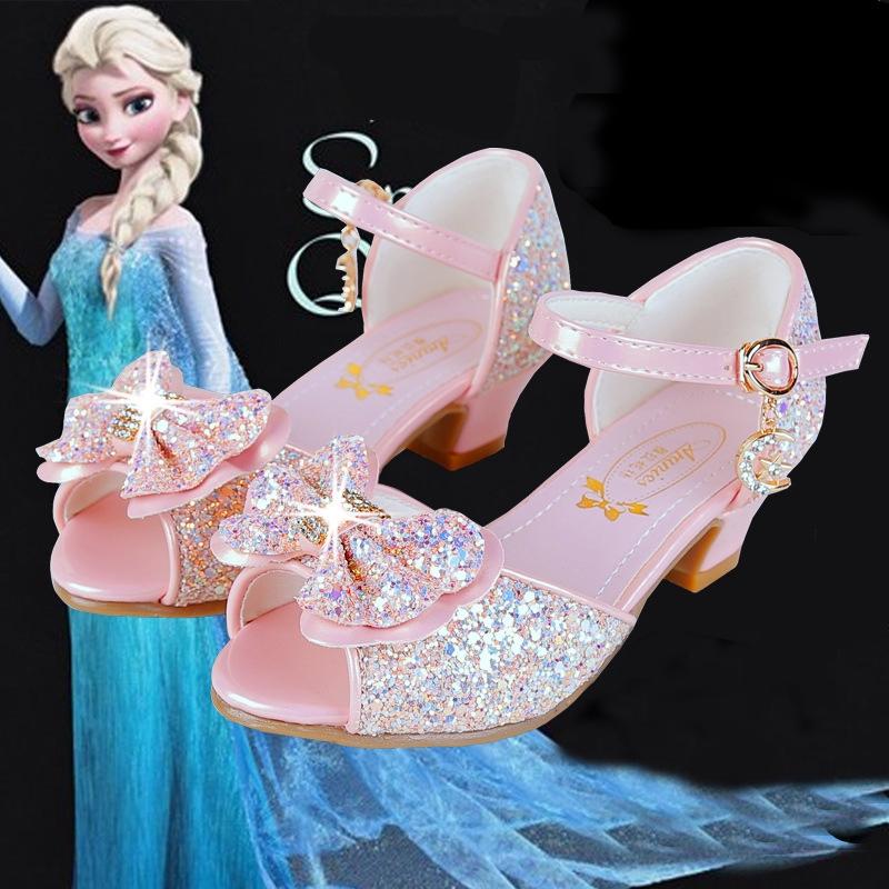 Mahkota Sepatu Anak Perempuan Princess Fashion Bayi Pesta Untuk