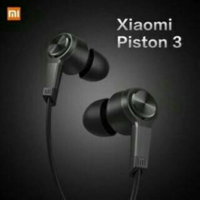 Hf handsfree headset earphone hedset xiaomi mi redmi note piston Fresh original packing   Shopee Indonesia