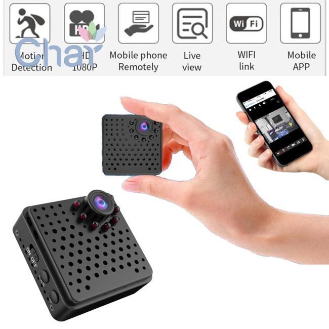 4K Camera Pinhole Cam Mini DIY Full HD 1080P WIFI Camera with Motion Detectio...