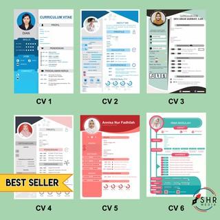 Jasa Desain Cv Dan Surat Lamaran Bahasa Indonesia Dan Inggris