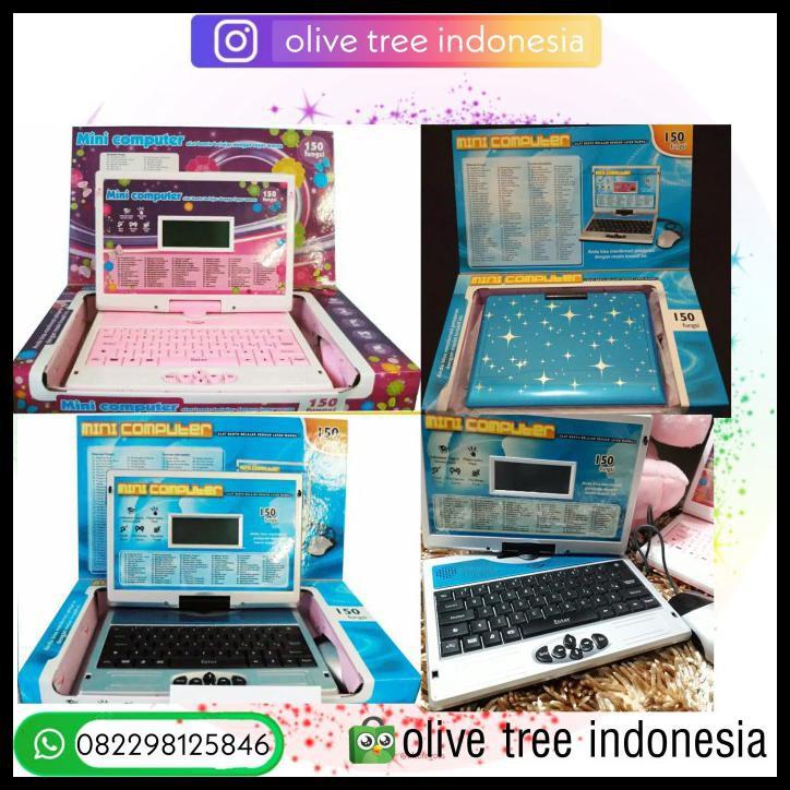 Mainan Edukasi Anak Laptop Anak Notebook Anak Biru Shopee Indonesia