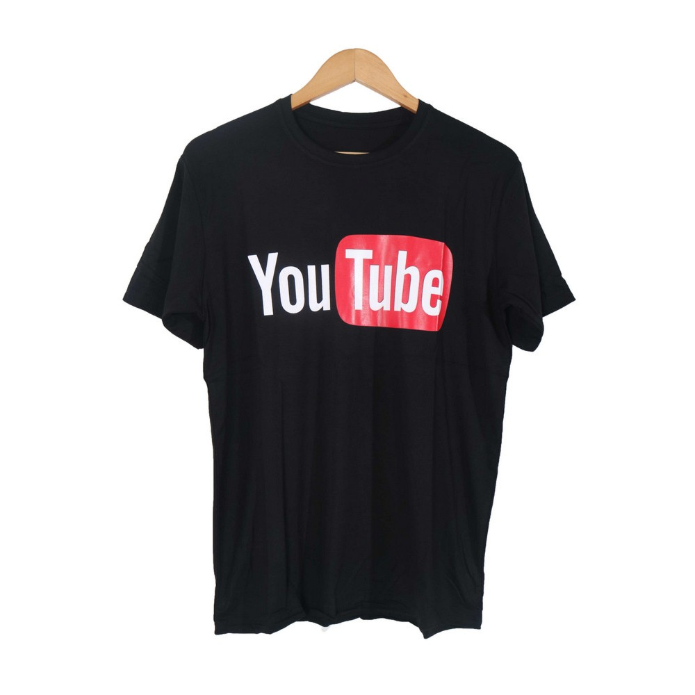 Kaos distro youtube you tube tshirt cowok pria baju abu tomyliston ... 47b047aad9