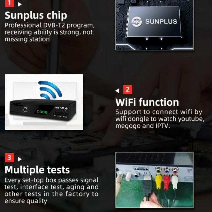 Grosir EZ-BOX SET TOP BOX DVB-T2 PENERIMA SIARAN TELEVISI DIGITAL YOUTUBE WIFI