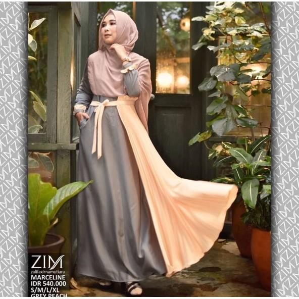 Marceline Dress Gamis Baju by Zalifa x Irna Mutiara