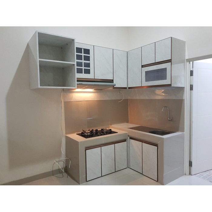 Nafi Furniture Kitchen Set Dapur Minimalis Shopee Indonesia
