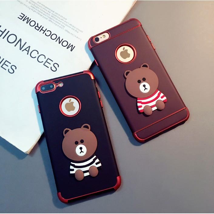 Casing Soft Case Silikon iPhone 6 / 6S / 6sp / 7 / 8 / 7P / 8P / x Motif Anjing Kartun | Shopee Indonesia