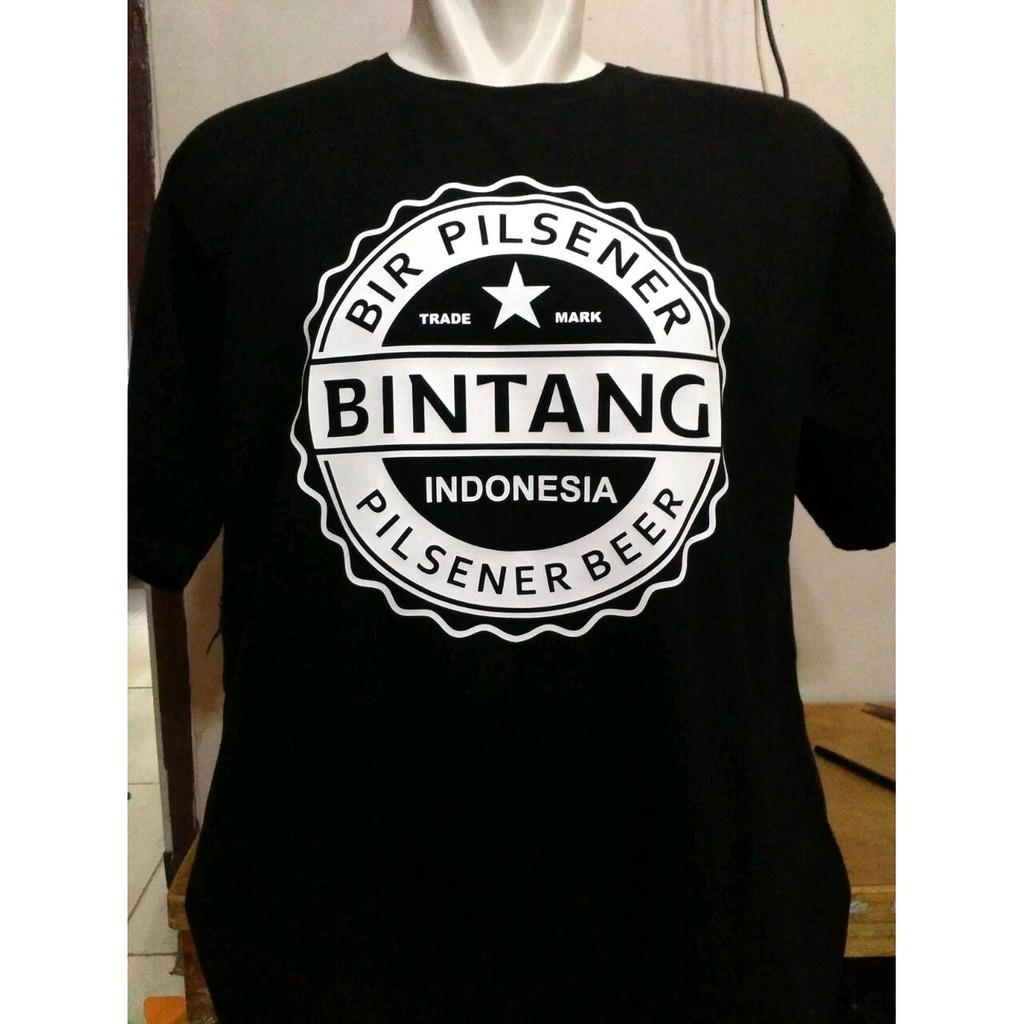Sale Terlaris Kaos Bir Bintang Indonesia Tshirt Distro Tendencies Beer Pee Hitam S Limited Shopee