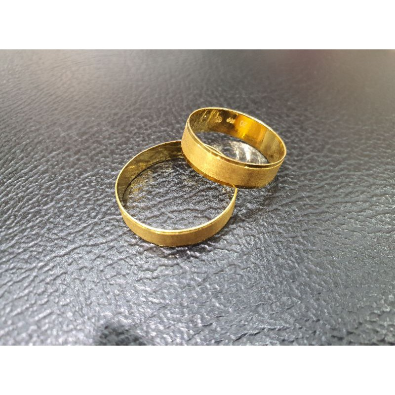 cincin couple cincin kawin cincin tunangan emas asli kadar 875