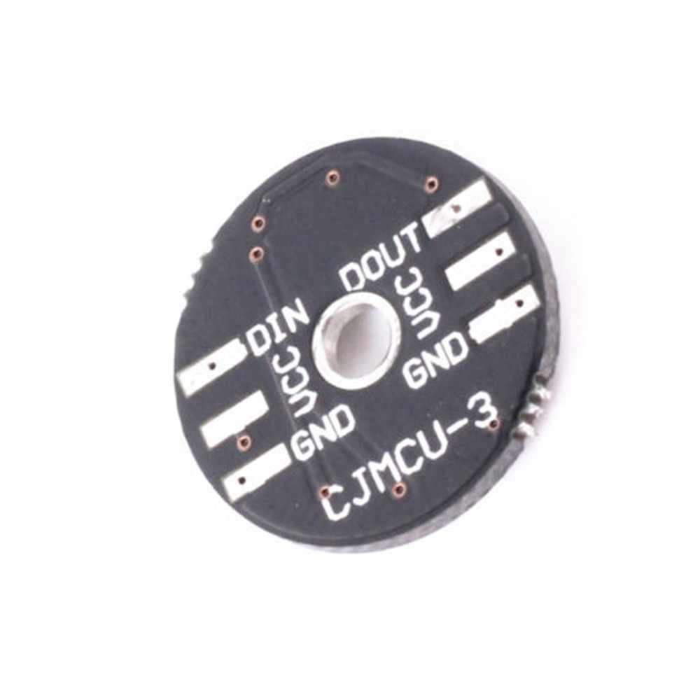 WS2812 3-Bit 5V 5050 RGB LED Lamp Panel Board Round for Arduino