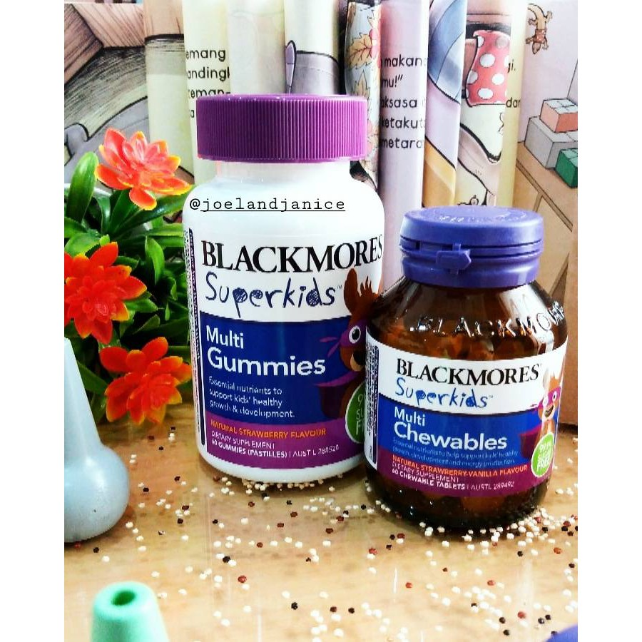 Blackmores Probiotic Kids Daily Health Shopee Indonesia Body Shield Bpom Kalbe 60 Tablet