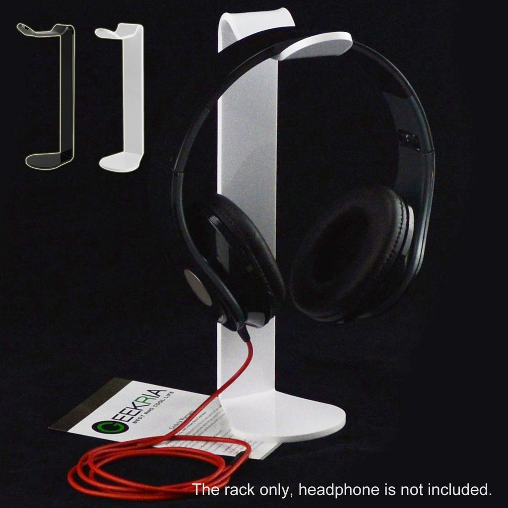 Stand Mount Rak Display Gantung Bahan Plastik untuk Holder Headphone/Headset /Earphone Universal |
