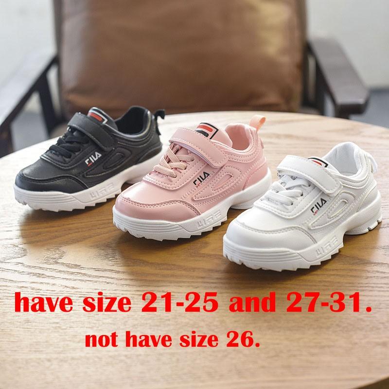 Size 26-36  Sneakers FILA Disruptor  988 (ABD)   sepatu anak umur 4 sd 10  thn  ed16bf0280