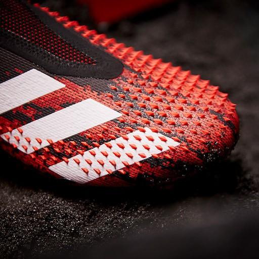 New Sepatu Bola Adidas Predator Mutator 20 Fg Core Black White