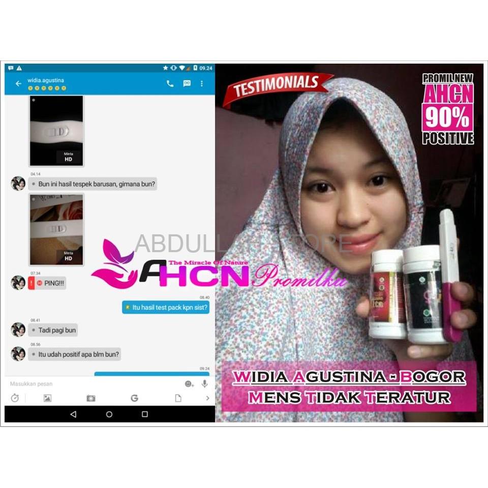 Herbal Paket Kesuburan Ahcn Obat Penyubur Pria Wanita Agar Pengental Penambah Sperma Cepat Hamil Dan Punya Anak Berkualitas Shopee Indonesia