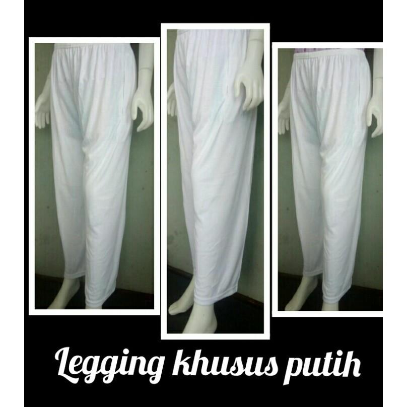 Legging Putih Panjang Leging Polos Wanita Grosir Murah Shopee Indonesia