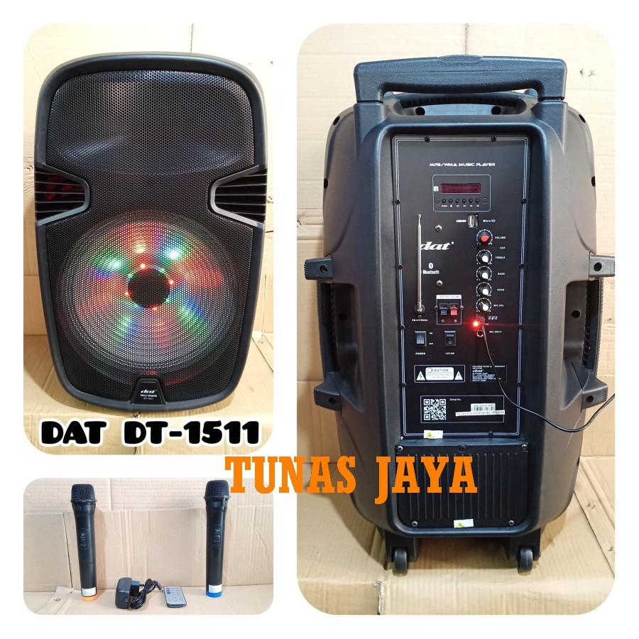 SPEAKER AKTIF DAT DT1511 ECO / DAT DT 1511 / DATT DT-1511 SPEAKER AKTIF 15 INCH PORTABLE