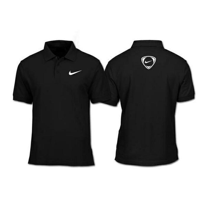 Kaos Polo Shirt Baju Kerah Distro Nike Training Depan Belakang Polos Custom Obral Indonesia Unisex Shopee Indonesia