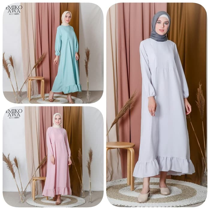Gamis Wanita Syar I Muslim Remaja Sabinna Gamis Modis Wanita Lebaran 2020 Terbaru Baju Gamis W 83frp Shopee Indonesia