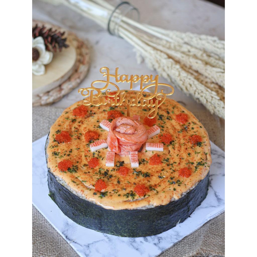 Salmon Mentai Cake (Kue Mentai)