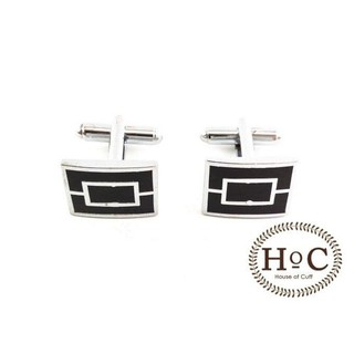 SUPER SALE - CUFFLINKS MANSET KANCING KEMEJA FRENCH CUFF RECTANGLE INSIDE CUFFLINKS