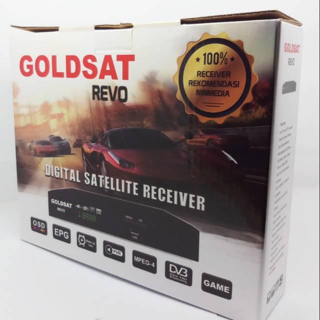 Receiver GOLDSAT REVO HD recomendasi