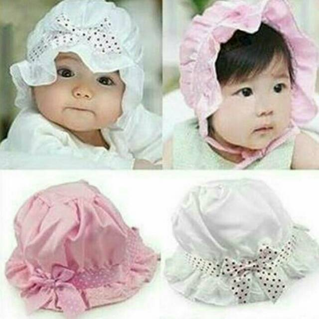 Topi bayi   topi anak import motif stripes  b794bcedfe