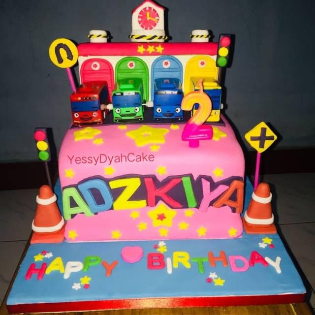 Kue Ulang Tahun Tema Tayo Cake Tayo Fondant
