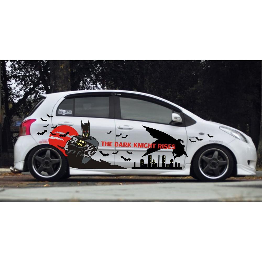 Stiker Mobil Konsep Batman Terlaris Shopee Indonesia
