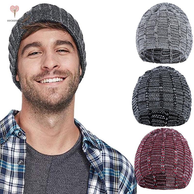 Topi Kupluk Rajut Hangat Handmade untuk Pria   Wanita   Musim Dingin ... 08bb89e707