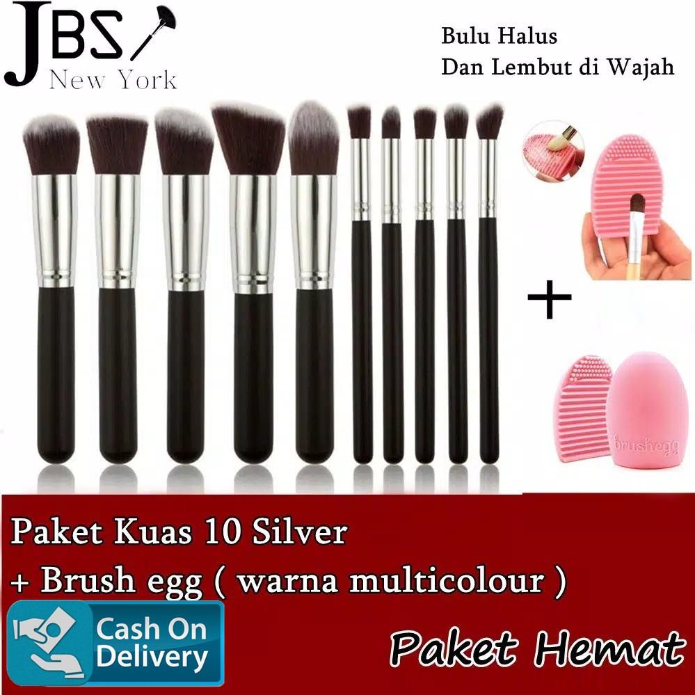 【COD】JBS Makeup Brush Egg Color Cleaner Kaleng Color Switch Pembersih Kuas K083 K067   Shopee Indonesia