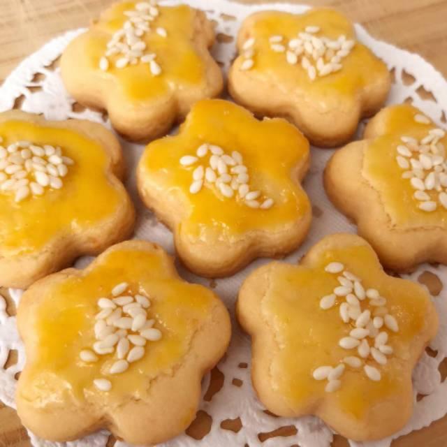 Salted Egg Cookies Kue Kering Telur Asin Kue Kering Lebaran