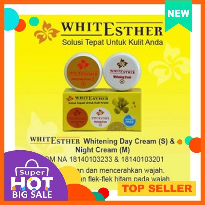 [HOTTEST] WHITE ESTHER CREAM WHITENING CREAM SM [SUDAH BPOM] | Shopee Indonesia