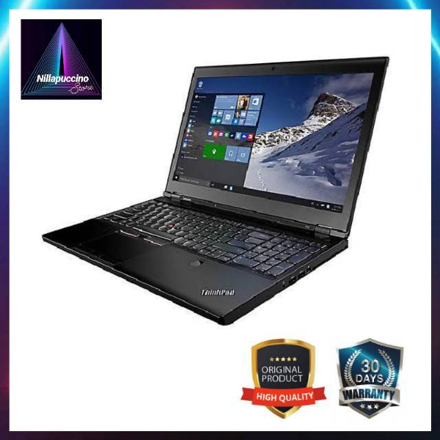 LENOVO thinkpad series ( laptop core i5, second, murah RAM 8 GB, SDD 128 GB, laptop bekas, laptop i5