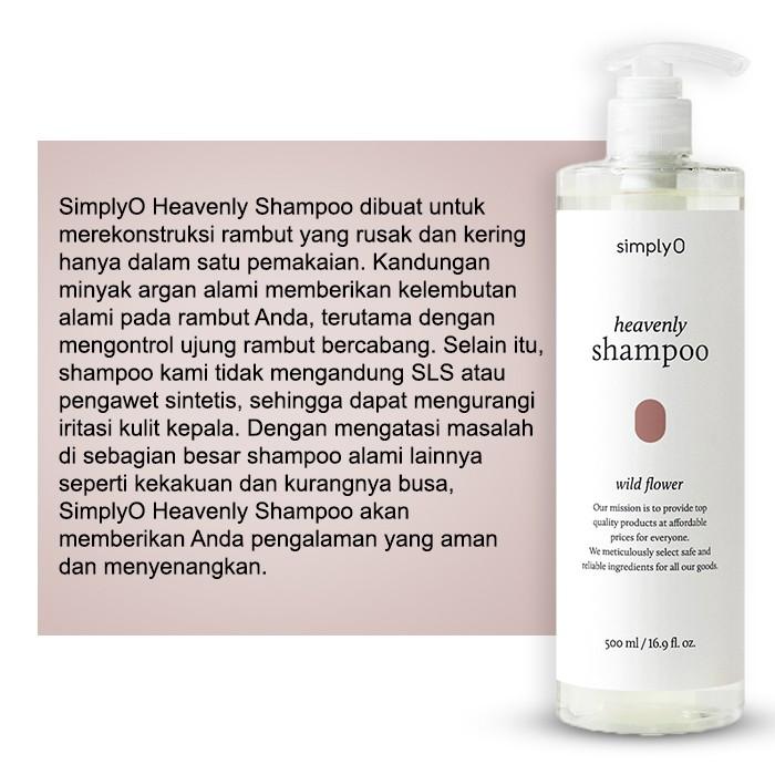 [HMART] SimplyO Heavenly Shampoo-4