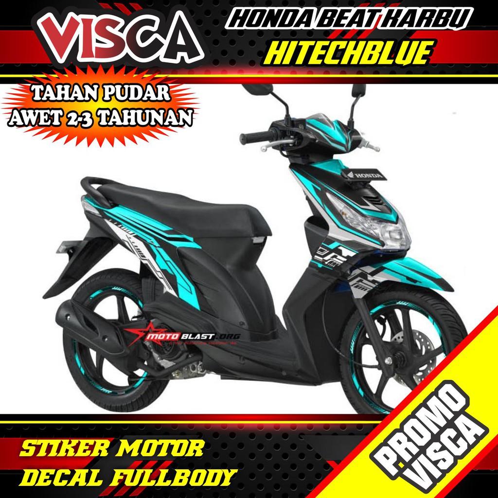 Stiker Beat Karbu Stiker Motor Beat Karbu Sticker Beat Karbu Stiker Honda Beat Karbu Custom Shopee Indonesia