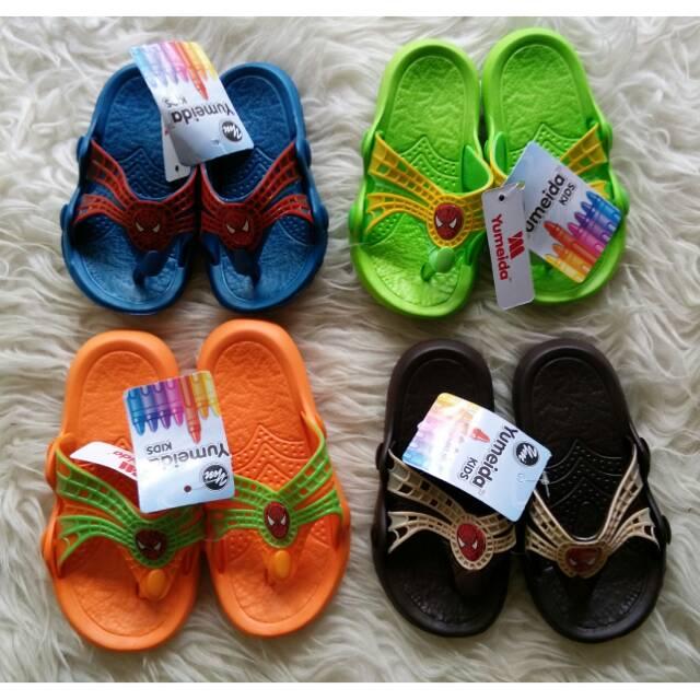 Sandal Anak Panda - Sandal karet Sandal selop Sandal jepit Sepatu Jelly Sandal anak Import murah   Shopee Indonesia