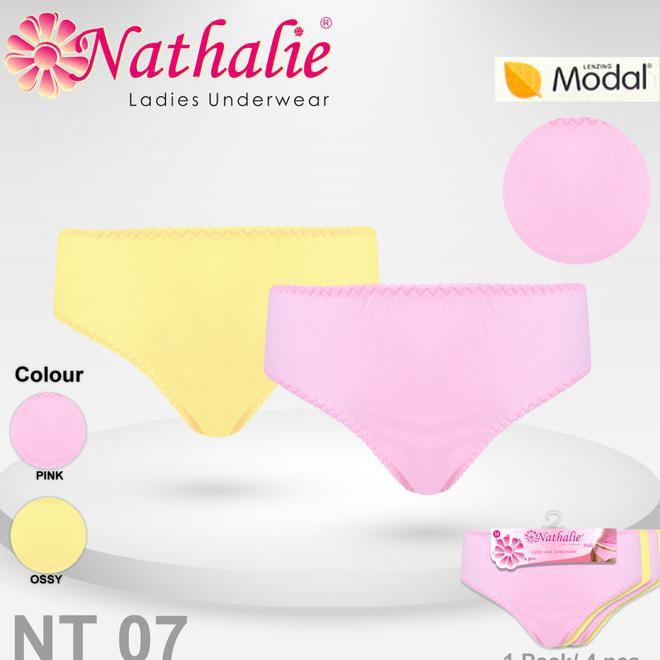 Nathalieofficial Celana Dalam Wanita Midi Nathalie Underwear NT 100 3pcs  0fcc75e14e