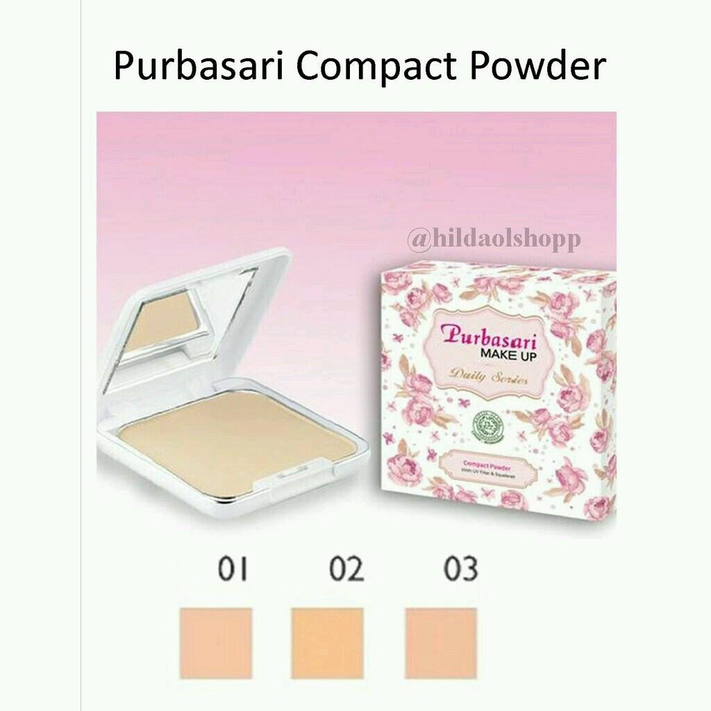 Purbasari Daily Series Compact powder 14gr ...