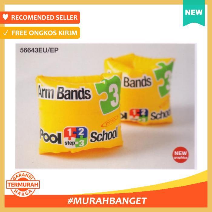 INTEX Arm Bands Pool School Step 3 Pelampung Lengan Tangan 56643 | Shopee Indonesia