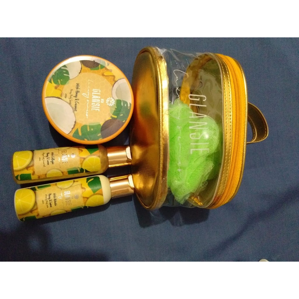 Glansie Luxury Bpom Paket Brightening Shopee Indonesia Ertos Nigt Cream Pemutih Wajah Kpw 146