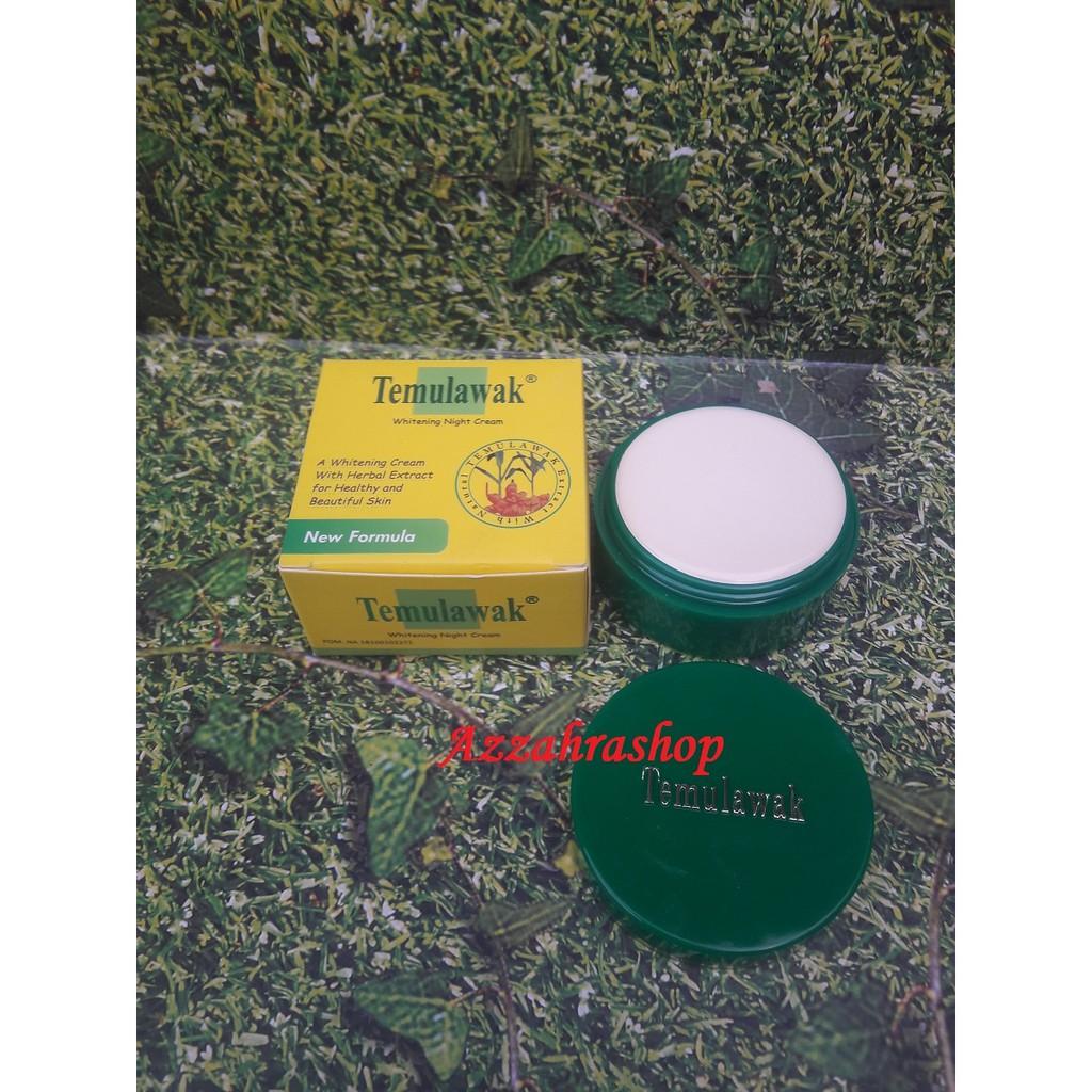 Krim Muka Malam Temulawak Whitening Night Cream New Formula Shopee Meco Lightening 4gr Indonesia
