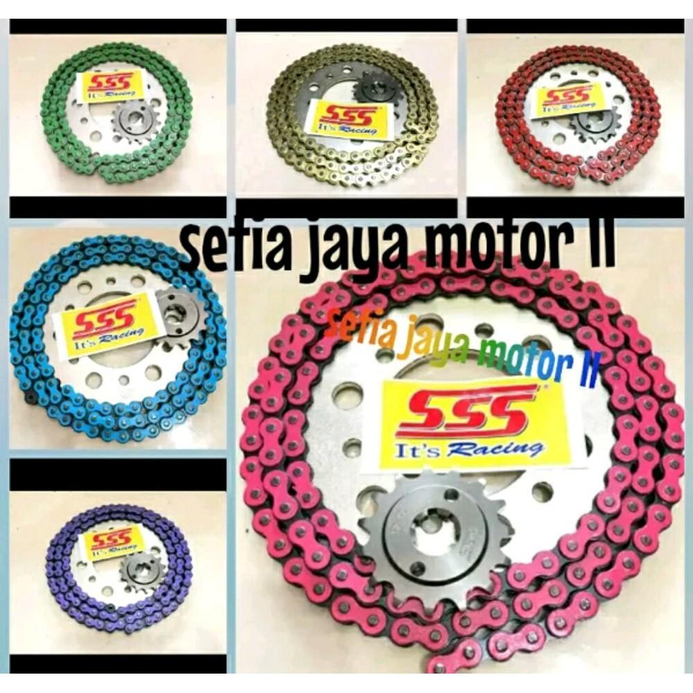 Gear Sss 428 Cbr 150 Cb150 Mega Pro Vixion Satria Fu Ninja R Rr Gir Belakang 415 Jupiter Z Mx Rxking Rxz Vega F1zr Size 26t 35t Sonic150 Rxk Dll Shopee Indonesia