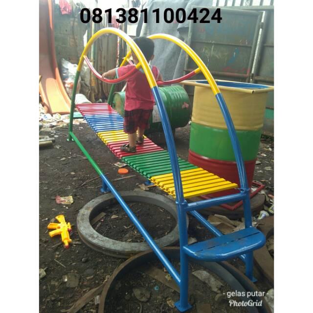 Mainan Anak Paud Mainan Tk Jembatan Rantai Mainan Outdoor Jembatan Anak Free Ongkir Jkt Dn Bekasi Shopee Indonesia
