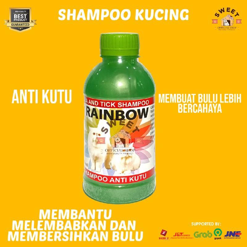 Rainbow - Shampo Anti Kutu Kucing Original 250 ml-5