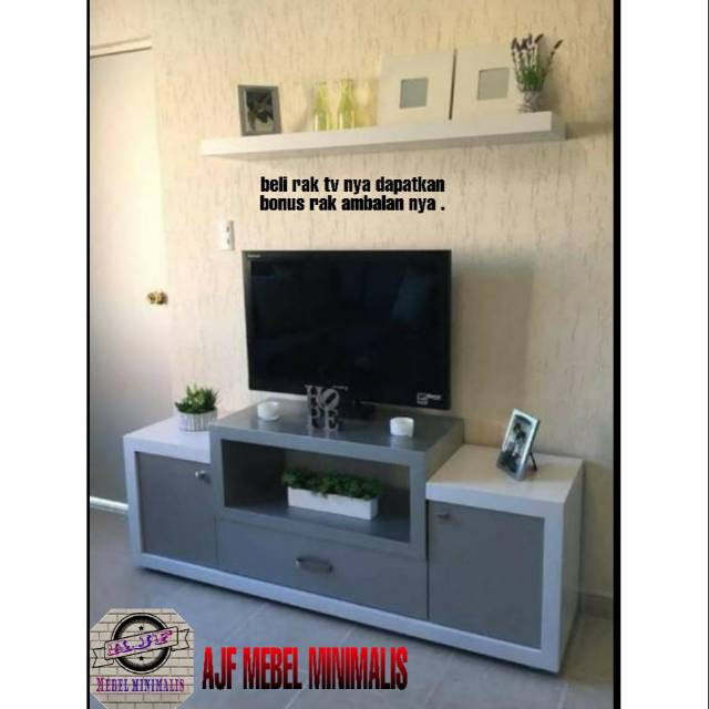 Rak Tv Lemari Tv Minimalis Modern Terbaru Shopee Indonesia