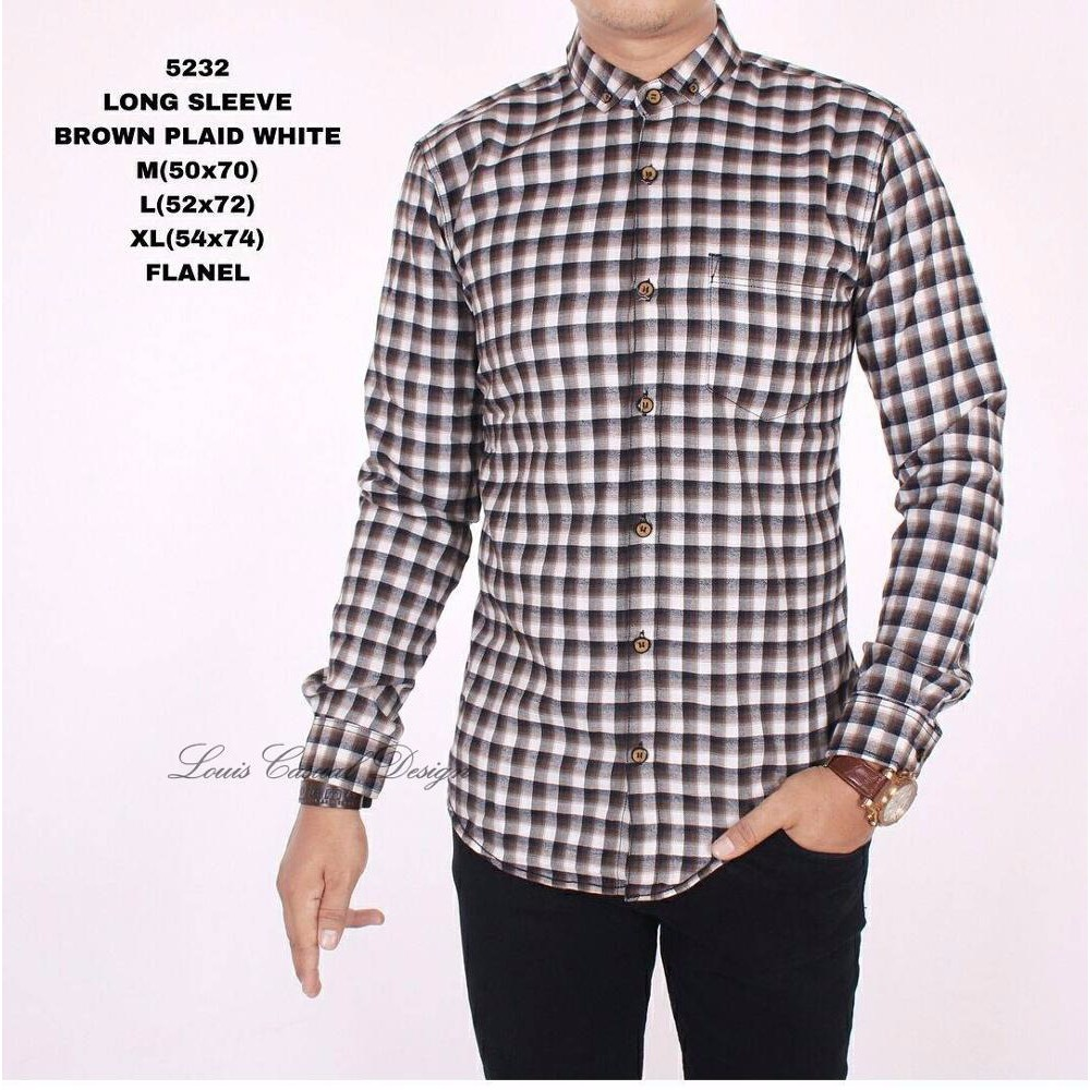 Kemeja Flanel Motif Kotak Flannel Katun Pria Cowok Slim Fit Tangan Pendek Premium 20 Lengan Panjang Formal Cas Shopee Indonesia