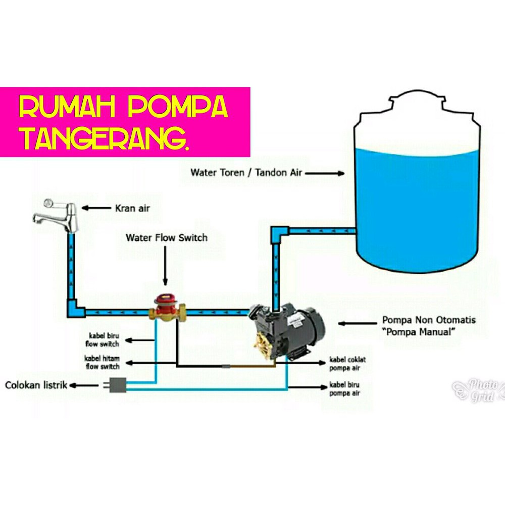 Otomatis Pompa Air Booster Flow Switch York Italy Solusi Bunyi Tek Shopee Indonesia